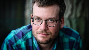 John Green: a perfect Christmas read for all age groups. (Pic Marina Waters)