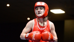 Kellie Harrington is into the quarter-final at the World Championships in New Delhi