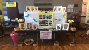 A remembrance event was held at Parnells GAA club in Dublin today