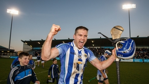Conal Keaney celebrating at the final whistle