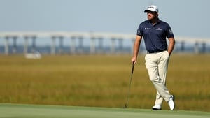 Graeme McDowell in action at the RSM Classic
