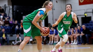 Emma O'Connor in action for Courtyard Liffey Celtics in last year's National Cup Final