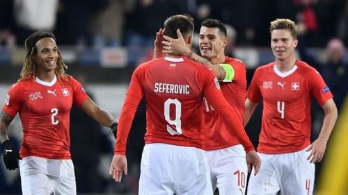 Switzerland left Belgium stunned