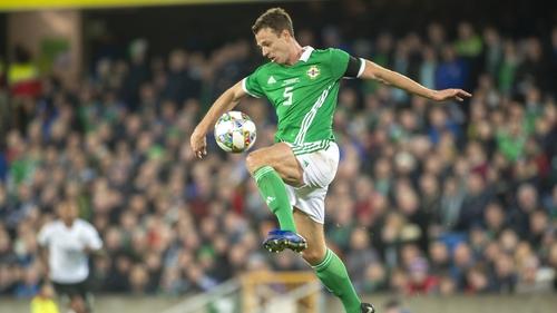 Jonny Evans is back for Northern Ireland