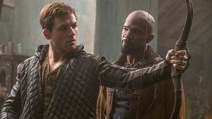 Missing the target - Taron Egerton and Jamie Foxx in Robin Hood