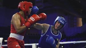 Kellie Harrington has won at least a bronze medal at the AIBA Women's World Boxing Championship