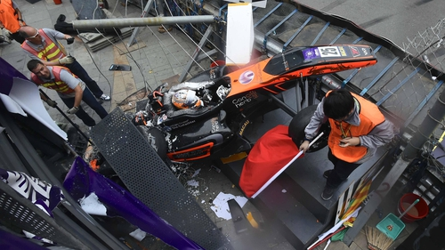 Macau GP horror-smash teen recovering after 'frightening' operation