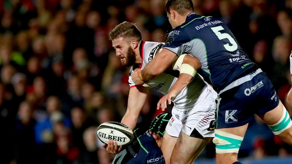 Stuart McCloskey in action for Ulster