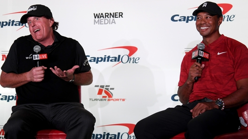 Tiger Woods, Phil Mickelson have friendly $200K side bet for The Match