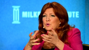 Dr Pippa Malmgren is in Dublin today to speak to over 800 business people at PwC's annual Business Forum
