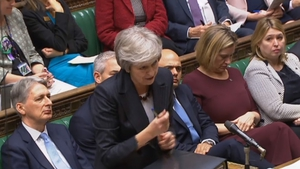 Theresa May faced stiff questioning during House of Commons debate