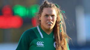 Beibhinn Parsons, 16, made her Ireland debut on Sunday