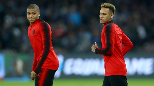 Mbappe and Neymar in race to be fit to face Liverpool