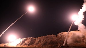 Last month, the Revolutionary Guards fired missiles at Islamic State militants in Syria (Photo Sepah News)