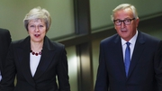Theresa May is set to meet with European Commission President Jean-Claude Juncker, but her office gave no date for talks