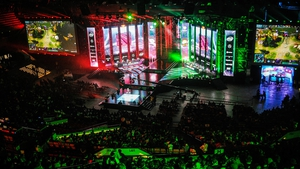 Spodek Arena during Dota 2 Major gaming match, February 24, 2018 in Katowice, Poland. Photo: Norbert Barczyk/Press Focus/MB Media/Getty Images