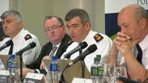 Drew Harris was speaking at a meeting of the Policing Authority