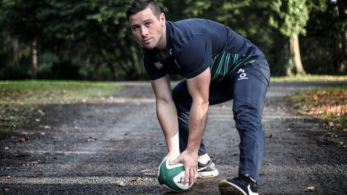 John Cooney has been eager to break into the Irish set-up