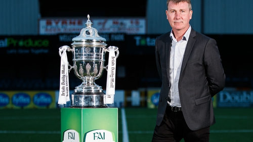 Stephen Kenny won a second FAI Cup and Premier Division double with Dundalk this year