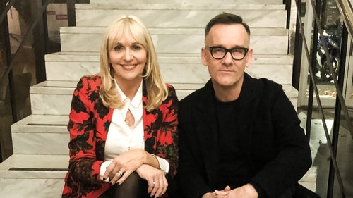 Miriam O'Callaghan and Brendan Courtney will host a live studio discussion