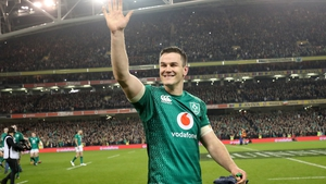 Johnny Sexton: 'We get looked after extremely well here and it is an exciting time for Irish rugby.'