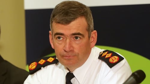 Commissioner Drew Harris was being driven into Garda Headquarters in a PSNI jeep