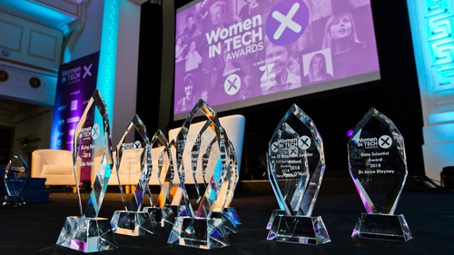 The inaugural Women in Tech Awards took place last night.