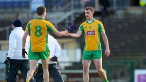 Ciaran Brady (l) and Ronan Steede of Corofin will go in search of more provincial silverware