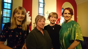 Mary Costello, Vona Groarke, Poetry Programme host Olivia O'Leary and Julie Feeney
