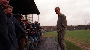 Mick McCarthy's unveiling in 1996