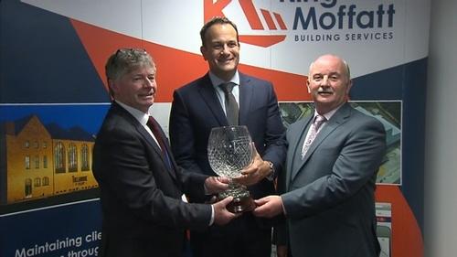 Taoiseach Leo Varadkar was in Carrick-on-Shannon for the jobs announcement this evening