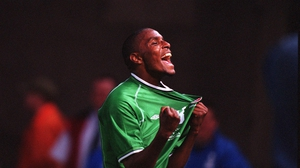 Clinton Morrison scored nine goals in 36 games for Ireland