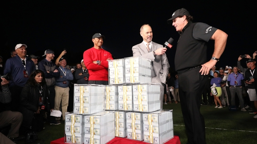 Fellow pro golfers not impressed by Tiger Woods - Phil Mickelson showdown