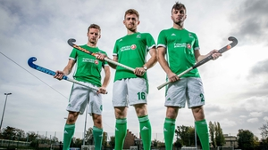 Daragh Walsh (r) along with  Jonny Bell and Shane O'Donoghue