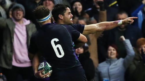 Sean Maitland scored the only try of the game
