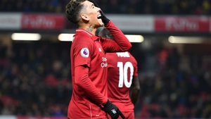 Roberto Firmino was back among the goals against Watford