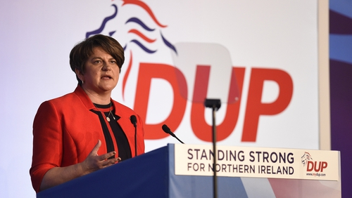 Arlene Foster said the DUP wants to see a negotiated and orderly withdrawal from the European Union