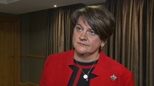 Arlene Foster spoke to RTÉ News following her party's conference in Belfast