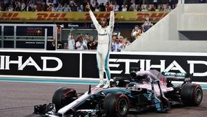Five times world champion Lewis Hamilton