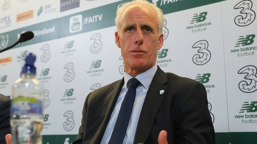 Mick McCarthy is fully focused on Euro 2020