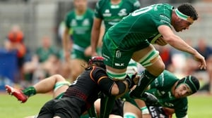 Paul Boyle gets over for Connacht's fourth try