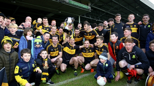 Dr Crokes celebrate their latest Munster triumph