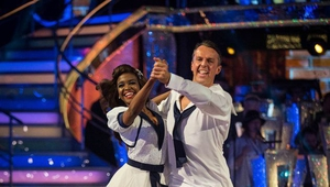 Graeme Swann and his professional partner, Oti Mabuse, have departed Strictly