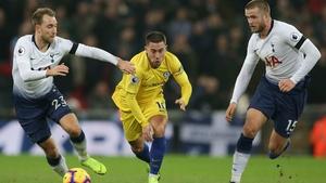 Chelsea's Belgian midfielder Eden Hazard could be on the nmove