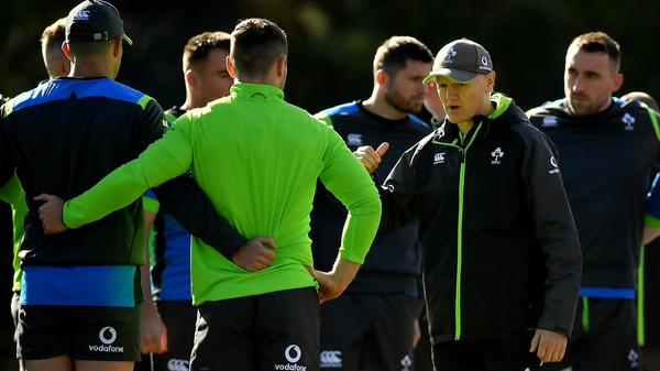 Joe Schmidt will leave Ireland next November