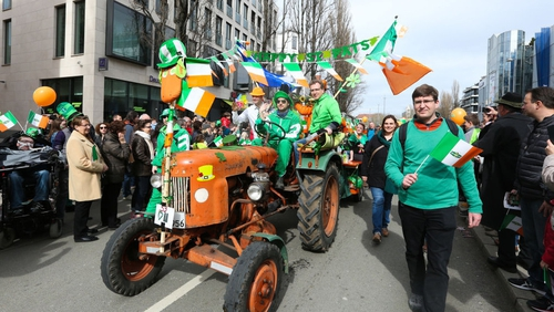 Around 15,000 people celebrated St Patrick's Day in Munich this year