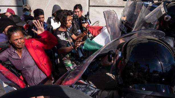 Tijuana declares 'humanitarian crisis' seeks help from UN