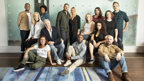 The cast of Come From Away, which opens at The Abbey this December (Pic: Helen Maybanks)