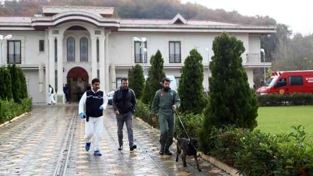 Police Inspecting Villa In Turkey's Yalova In Khashoggi Probe