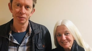 Mystery Train host John Kelly and poet Paula Meehan